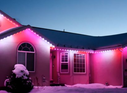 Permanent Holiday Lighting by Trimlight